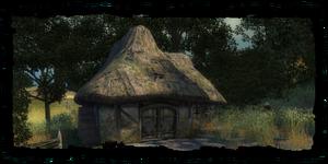 Hütte des Einsiedlers