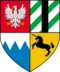 historisches Wappen von Kovir und Poviss