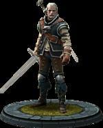 Geralt, Charaktermodell in TWBA