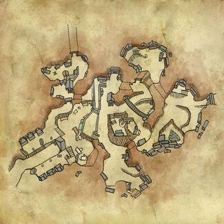 Karte von Vergen
