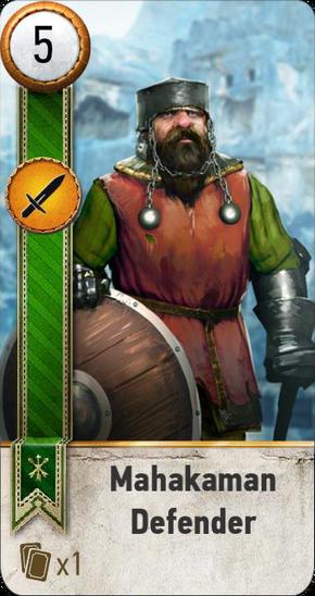 Tw3 gwent card face Mahakaman Defender 4.png