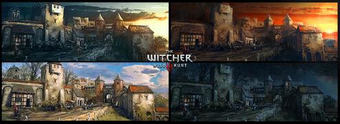 The witcher 3 wild hunt blood and wine mood board by scratcherpen-da4ms9l.jpg