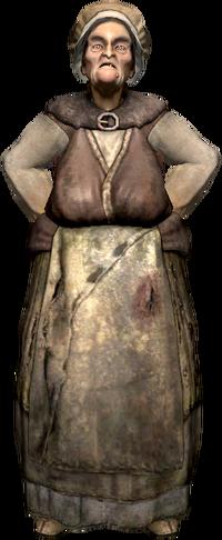 Vaska, die Dorfälteste