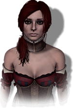 """Sabrina Glevissig in """"The Witcher 2"""""""
