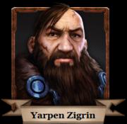 Yarpen Zigrin im The Witcher: Abenteuerspiel