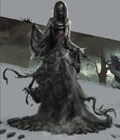 Tw3 concept art Plague Maiden artbook.png