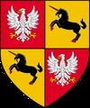 Altes Wappen von Kovir und Poviss (Variante 2