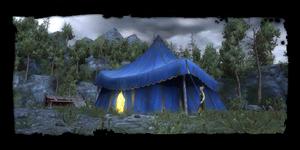 Lager bei Kaer Morhen