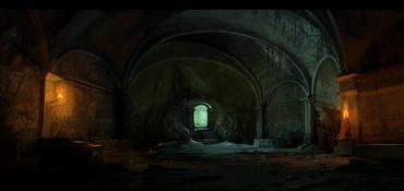 Katakomben im alten Herrenhaus