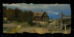 Die Hütte vom König der Fischer