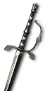 Tw3 silver unique moonblade.png