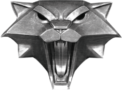 Medaillon der Katzenschule