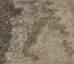 Karte zur Netflix-Serie; hervorgehoben ist Brugge