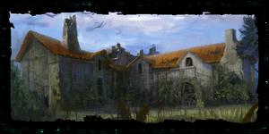 Ruinen der Mühle