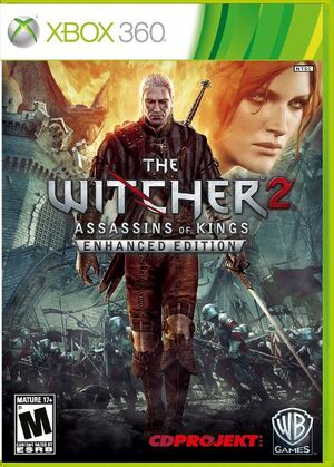The Witcher 2 Xbox360 Gamebox Retailer