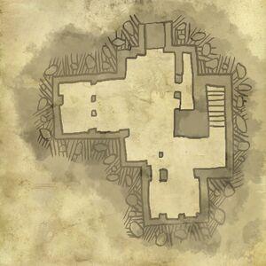 Karte von der unteren Ebene