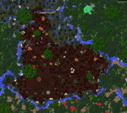 Fire swamp map view