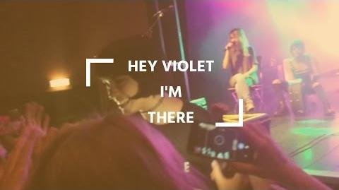 Hey Violet - I'm There Hey Violet Live Berlin