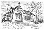 186B Ghost Bride - Ext. Little House 1920's by Steve Lowtwait