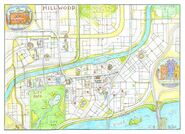 Map of Hillwood by Craig Bartlett