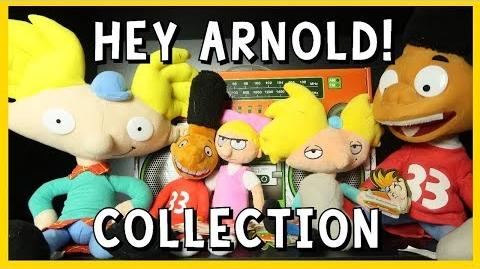My Hey Arnold Collection + Meeting creator Craig Bartlett at SDCC 2017