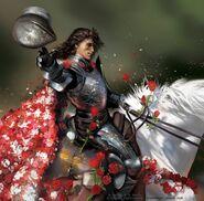 Loras Tyrell by Amélie Hutt, Fantasy Flight Games©