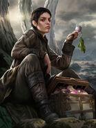 Asha Greyjoy by Magali Villeneuve, Fantasy Flight Games©
