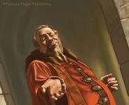 Magister Illyrio by Jake Murray, Fantasy Flight Games©