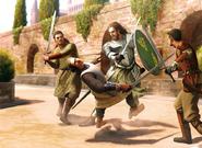 Garlan Tyrell by Joshua Cairós, Fantasy Flight Games©
