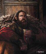 Robert Baratheon by Magali Villeneuve©