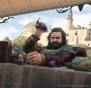 Robert Baratheon by Joshua Cairós, Fantasy Flight Games©