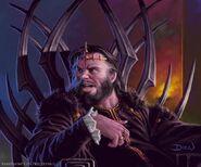 Robert Baratheon by Chris Dien, Fantasy Flight Games©