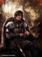 Robb Stark by Magali Villeneuve, Fantasy Flight Games©