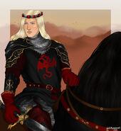 Daeron I Targaryen, the Young Dragon by Chillyravenart©