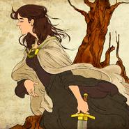 Lyanna Stark by Juliana P©