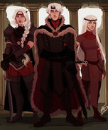 Aegon, Visenya and Rhaenys by Naomi©