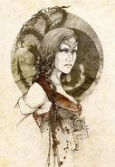 Visenya Targaryen by Elia Mervi