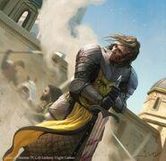 Sandor Clegane by Joshua Cairós, Fantasy Flight Games©