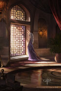Daenerys in Pentos by Magali Villeneuve©