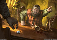 Robert Baratheon by Lukasz Jaskolski, Fantasy Flight Games©
