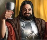 Robert Baratheon by Henning Ludvigsen, Fantasy Flight Games©