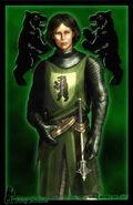 Dacey Mormont by Amoka
