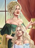 Falena Stokeworth & Jeyne Lothston by Rae Lavergne©
