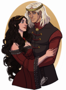 Aegon V and Black Betha by Naomi©