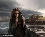 Sansa Stark by Magali Villeneuve, Fantasy Flight Games©