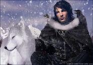 Jon Snow by Natascha Röösli, Fantasy Flight Games©