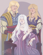 Androw, Rhaena and Elissa by Naomi©
