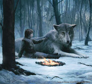 Bran Stark y Verano by Joshua Cairós©