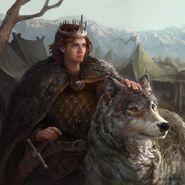 Robb Stark by Antonio José Manzanedo, Fantasy Fligth Games©