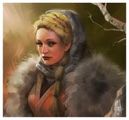 Val Wildling Princess by mattolsonart©